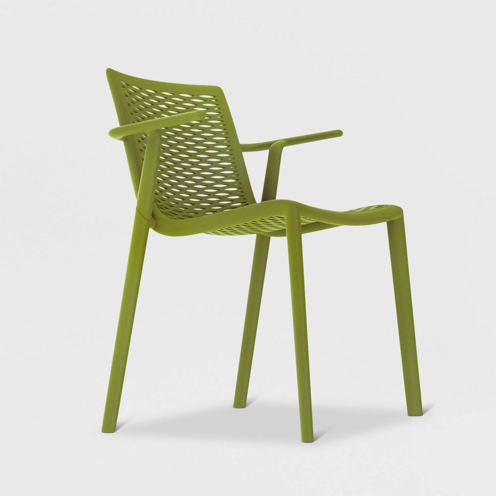 Net - Kat 2pk Patio Armchair - Olive Green - Resol