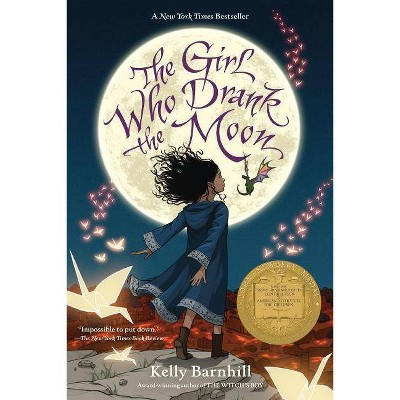 Girl Who Drank the Moon -  Reprint by Kelly Barnhill (Paperback)