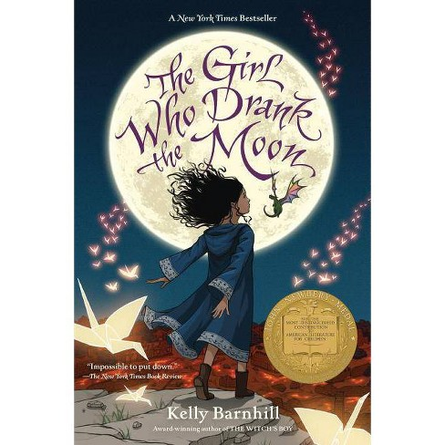 Girl Who Drank the Moon -  Reprint by Kelly Barnhill (Paperback) - image 1 of 1