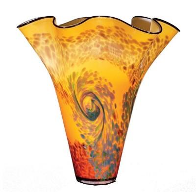 """OK Lighting 17""""H Glass Vase"""