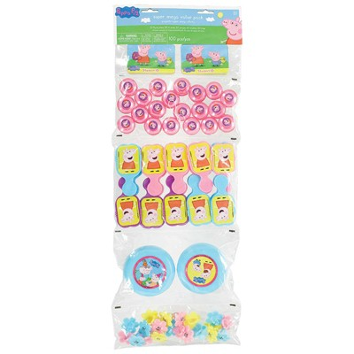 Birthday Express Peppa Pig Ultimate Favor Pack - 100 Pack