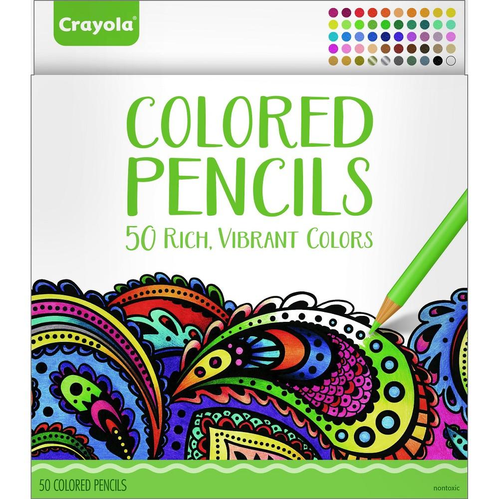 Crayola Colored Pencils - 50ct, Multi-Colored