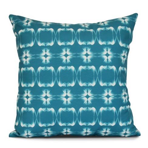"Summer Picnic Print Pillow Throw Pillow (16""x16"") - E by Design - image 1 of 1"