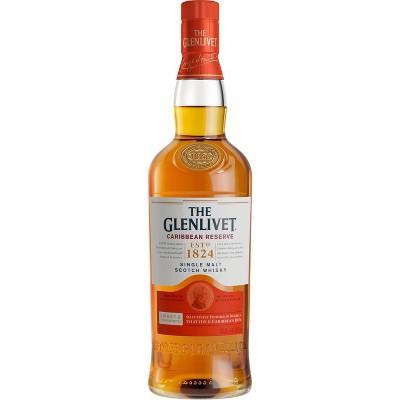 The Glenlivet Caribbean Reserve Single Malt Scotch Whisky - 750ml Bottle