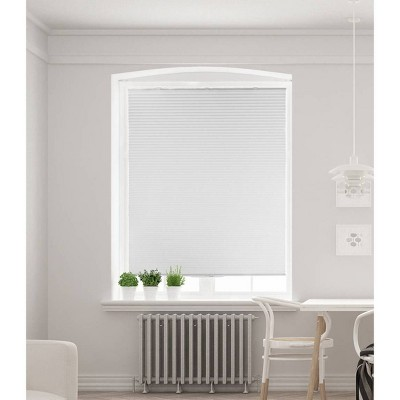 "36""x64"" Cordless Cellular Honeycomb Room Darkening Sun Shade White - Lumi"