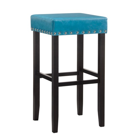 Jameson Nail Head Trim Backless Bar Stool - Carolina Chair & Table - image 1 of 3