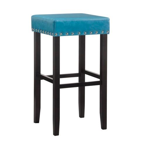 Jameson Nail Head Trim Backless Bar Stool - Carolina Chair & Table - image 1 of 3
