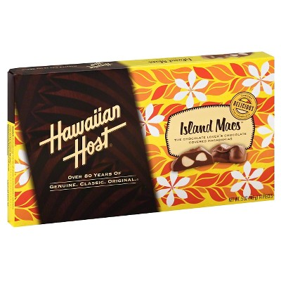 Chocolate Candies: Hawaiian Host Island Macs