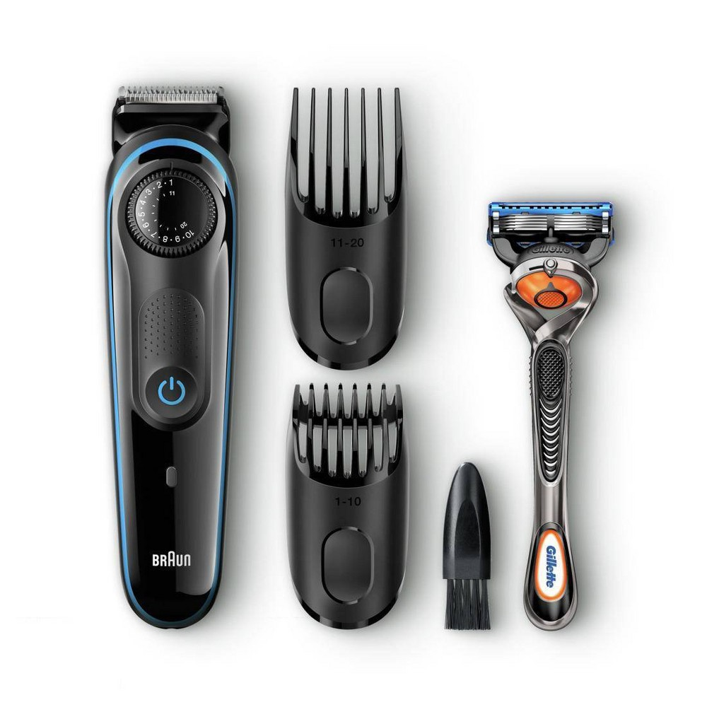 Image of Braun BT3040 Men's Rechargeable Electric Beard Trimmer/Hair Clipper