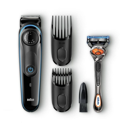 Braun BT3040 Men's Rechargeable Electric Beard Trimmer/Hair Clipper - image 1 of 4