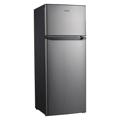 Galanz 7.6 cu ft Compact Refrigerator - Stainless Steel GL76S1E