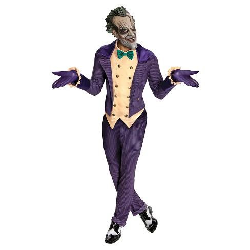 DC Comics Joker Arkham City Costume One Size - image 1 of 1