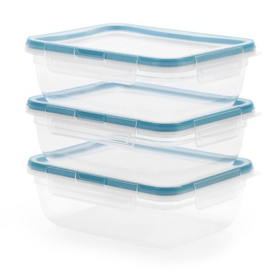 Snapware Total Solutions 8.5 Cup Rectangle Container Set - 6pc