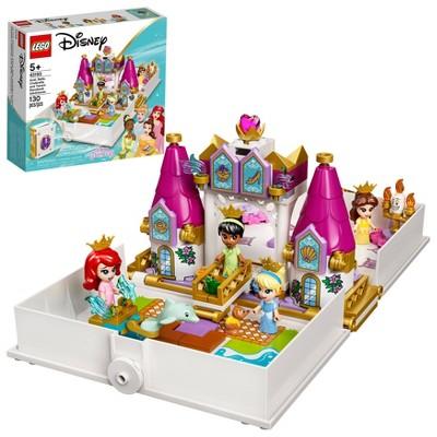 LEGO Disney Ariel, Belle, Cinderella and Tiana's Storybook Adventures 43193