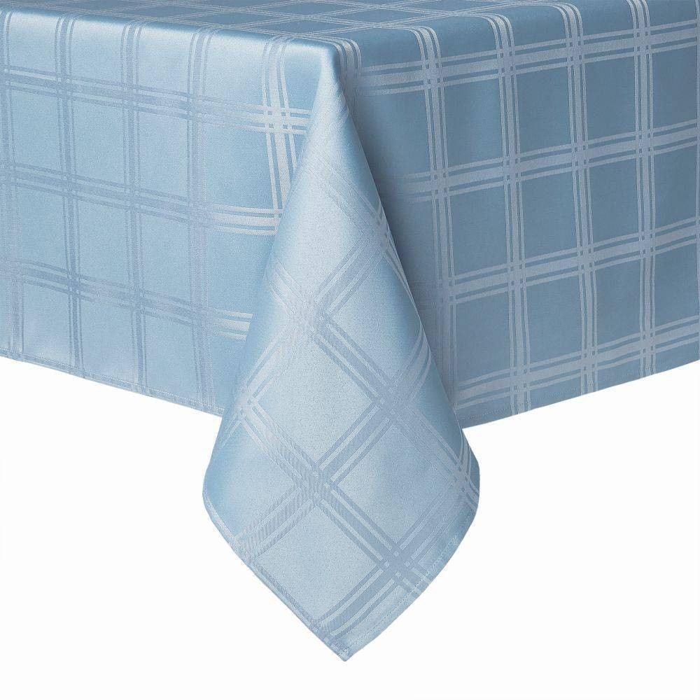 144 34 X 60 34 Element Tablecloth Blue Town 38 County Living