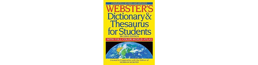 Merriam Webster Webster's Dictionary & Thesaurus for Stud...