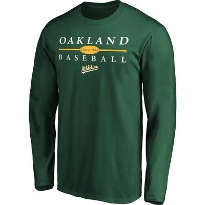 MLB Oakland Athletics Men's Long Sleeve Core T-Shirt