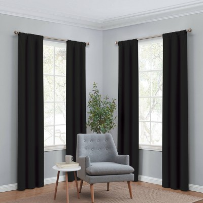 Set of 4 Ferris Room Darkening Curtain Panels - Eclipse