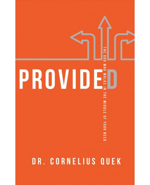 Provided : The God Who Walks in the Middle of Your Need -  by Cornelius Quek (Paperback) - image 1 of 1