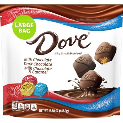 Dove Promises Variety Pack Chocolate Candies - 15.8oz