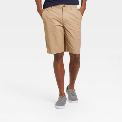"Men's 10.5"" Linden Flat Front Shorts - Goodfellow & Co™"