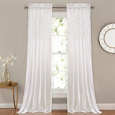 "Bayview Window Curtain Set (84""x54"") - Lush Décor"