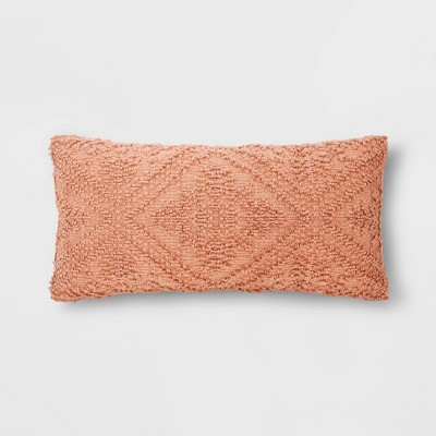 Tufted Throw Pillow Terra Cotta - Threshold™