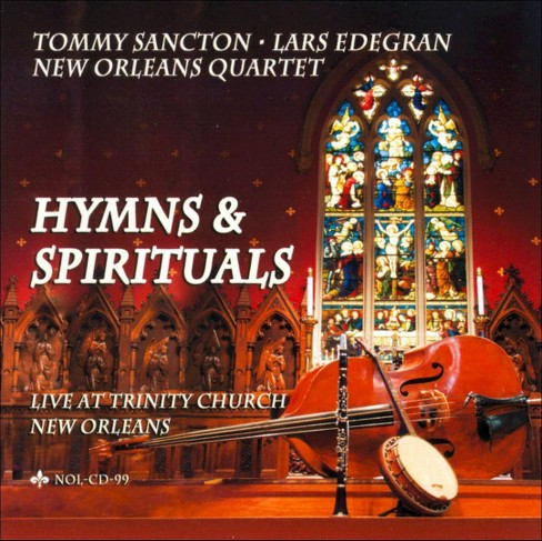Tommy sancton - Hymns & spirituals (CD) - image 1 of 1