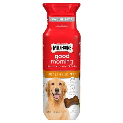 Milk-Bone Good Morning Healthy Joints Daily Vitamin Treats for Dogs - 15oz