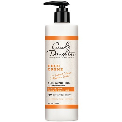 Carol's Daughter Coco Creme Curl Quenching Conditioner with Coconut Oil for Very Dry Hair - 12 fl oz