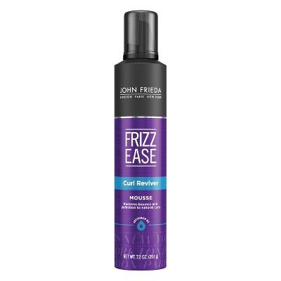 Hair Styling: John Frieda Frizz Ease Curl Reviver Mousse