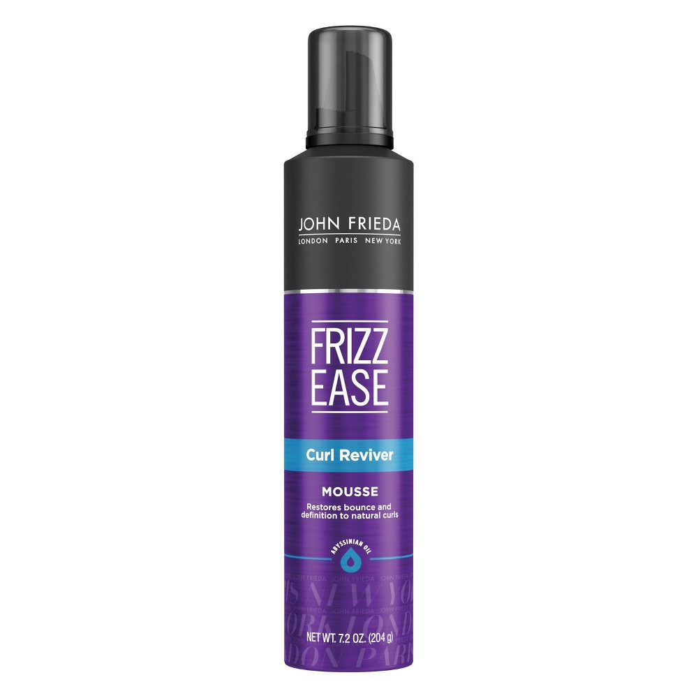 Image of Frizz Ease John Frieda Curl Reviver Mousse - 7.2oz