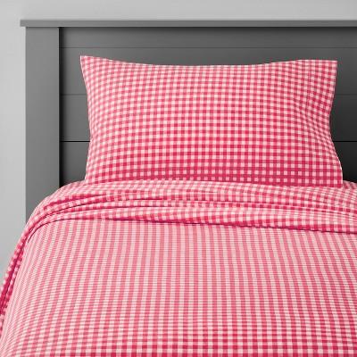 Gingham Cotton Sheet Set - Pillowfort™