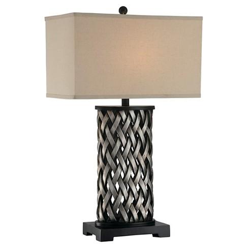 Sadler 1 Light Table Lamp  - Aged Silver - image 1 of 2