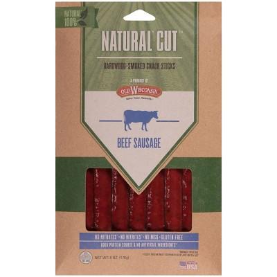 Old Wisconsin Beef Sausage Sticks - 6oz