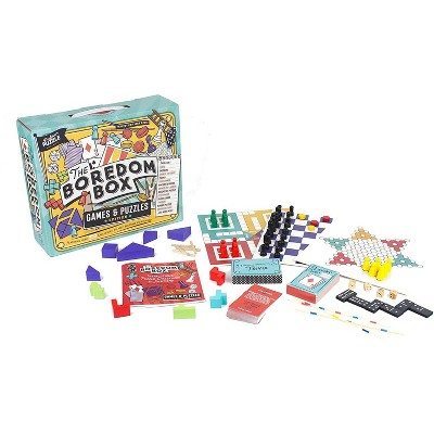 Professor Puzzle The Boredom Box Over 250 Activities Games & Puzzles Set