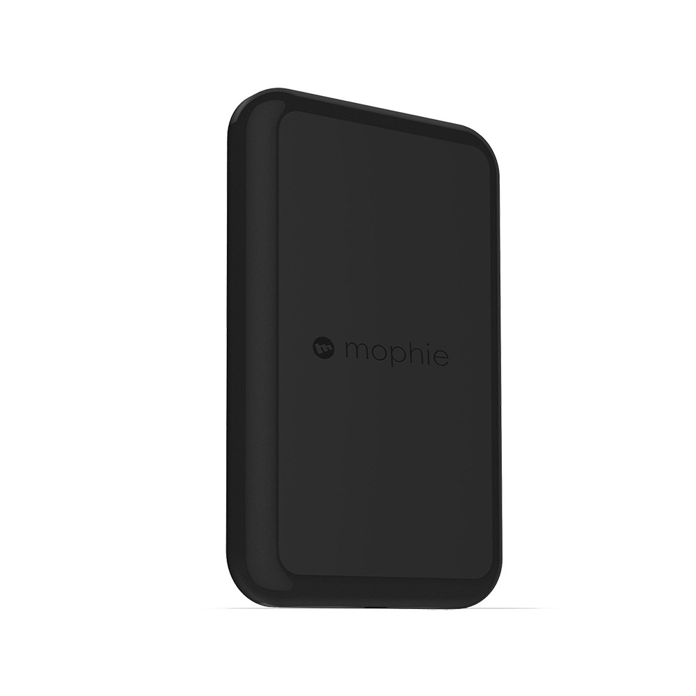 Wireless Charging Pad - Mophie, Black Charging at home or the office has never been easier with the mophie wireless charging pad. Simply touch your mophie case with charge force wireless power to the base; internal magnets will align it for a perfect charge every time. Never fuss with cables again. Color: Black.