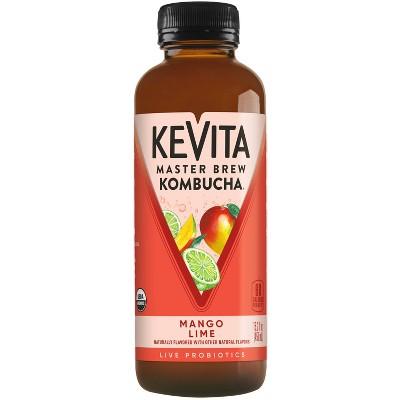 KeVita Mango Lime Master Brew Kombucha - 15.2 fl oz