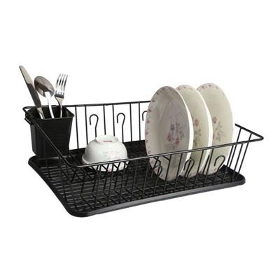 Mega Chef White Dish Rack
