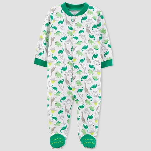 Baby Boys' Dinosaur Sleep N' Play - Just One You™ Made by Carter's®  Green - image 1 of 2