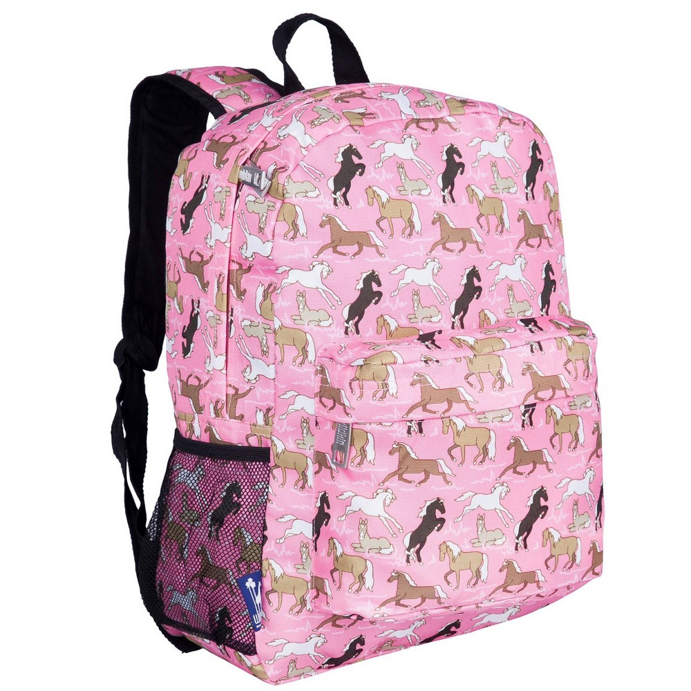 Wildkin 16 34 Horses Crackerjack Kids 39 Backpack Pink