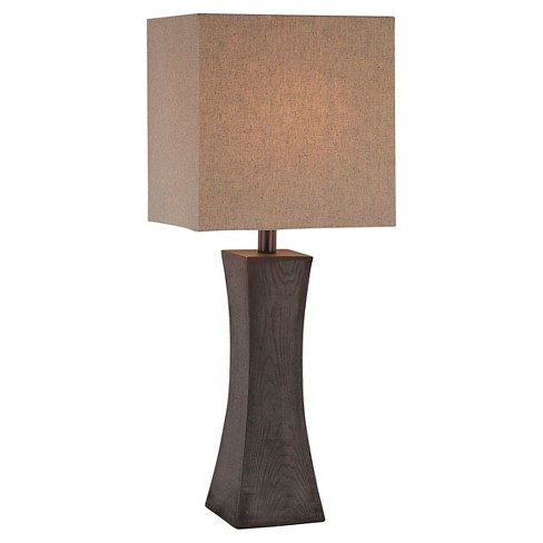 Lite Source Enkel 1 Light Table Lamp - Dark Walnut - image 1 of 2