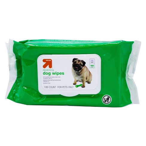 Deodorizing Dog Wipes - 100ct - Up&Up™ - image 1 of 2