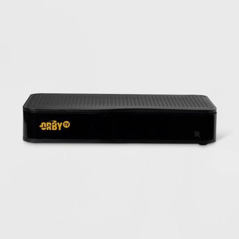 Orby TV Satellite Receiver & DVR Box - Black