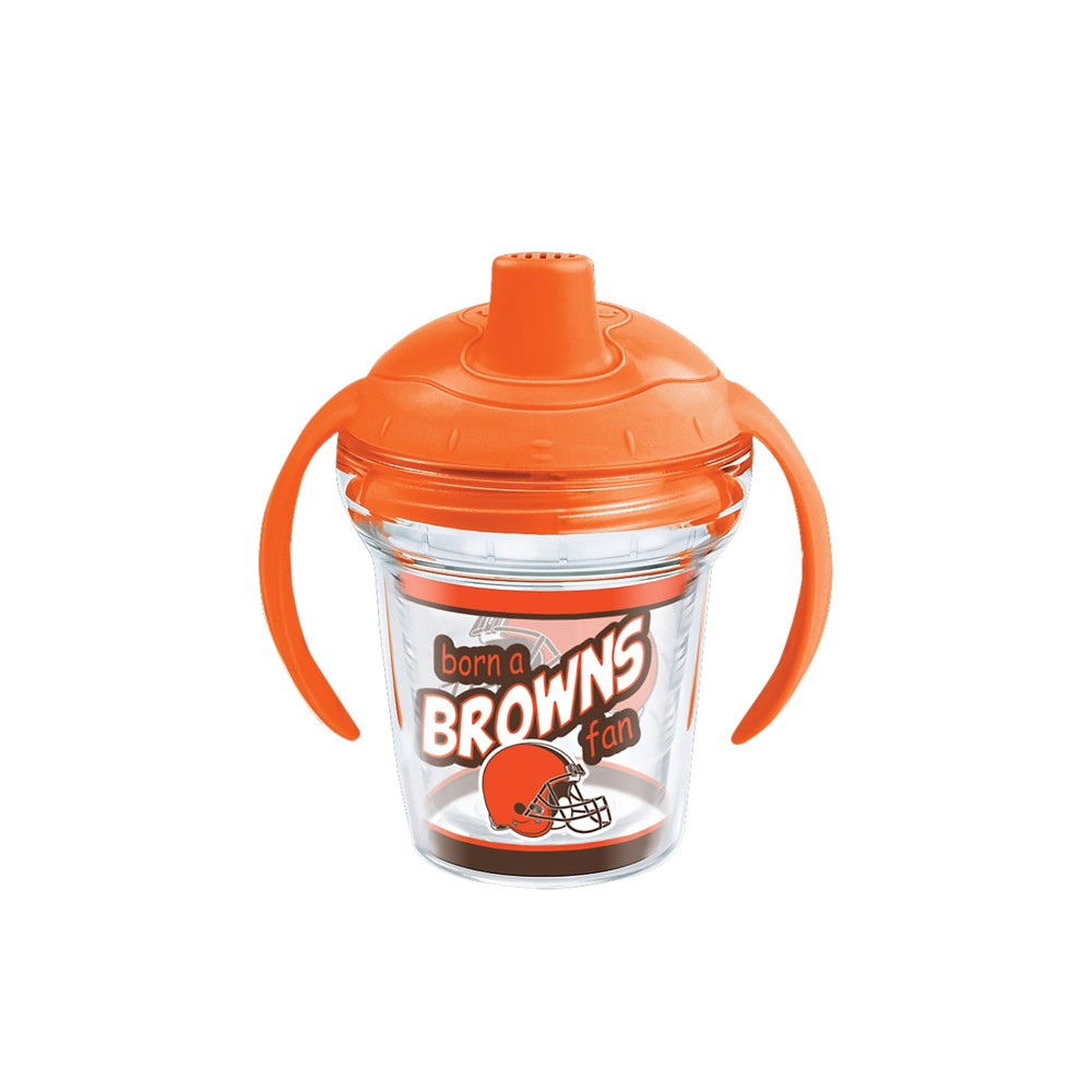 Tervis NFL Cleveland Browns Born A Fan 6oz Sippy Cup with Lid