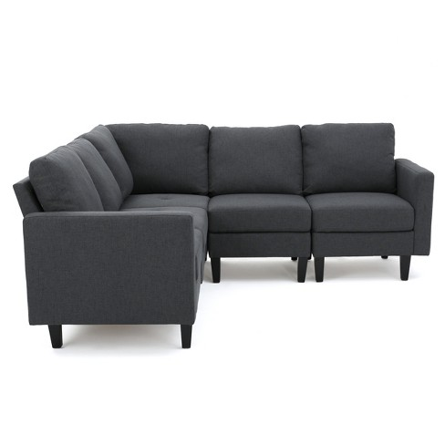 5pc Zahra Sectional Couch Christopher Knight Home Target