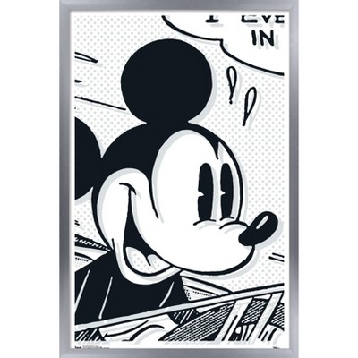 Trends International Disney Mickey Mouse - Art Deco Framed Wall Poster Prints