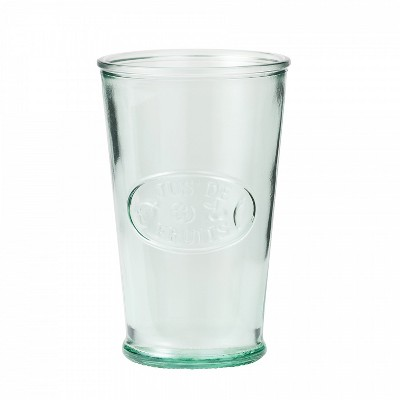 Amici Home Italian Recycled Green Juice Glass, 11oz, Set of 6