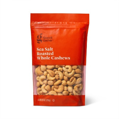 Sea Salt Roasted Whole Cashews - 9.5oz - Good & Gather™