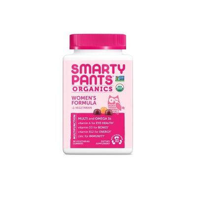 Multivitamins: SmartyPants Organics Women's Formula